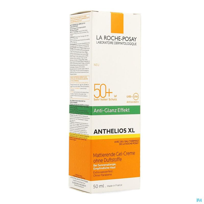La Roche Posay Anthelios Dry Touch Sp Ip50+ Xl Nf 50ml
