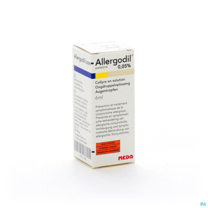 Allergodil Collyre Fl 6ml