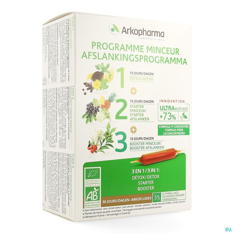 Arkofluide Programme Minceur Nf Amp 30