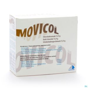 Movicol Gout Chocolat Sachets 20 X 13,7g