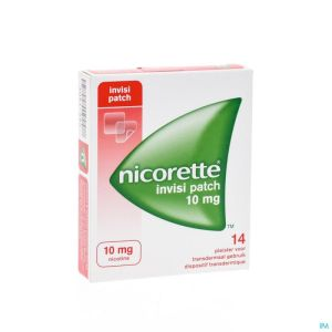 Nicorette Invisi 10mg Patch 14