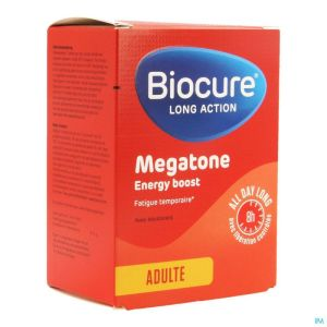 Biocure Long Action Megatone Energy Boost Comp 60
