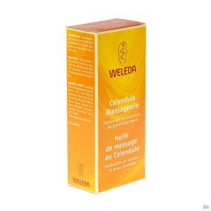 Weleda Hle Massage Calendula Fl 100ml