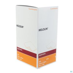Melolin Cp Ster 10x10cm 100 66974941