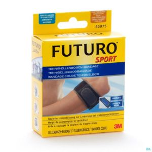 45975dab Futuro Sport Bandage Tennis-elbow - Adjustable Noir (17,8 > 35,6 Cm)
