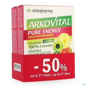 Arkovital Pure Energy Promo Pack Comp 2x30