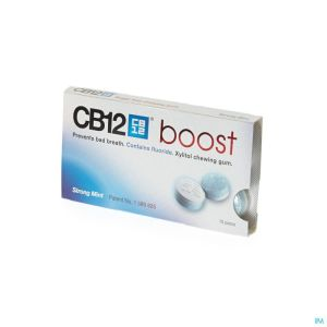 Cb12 Boost Strong Mint Chewing Gum 10