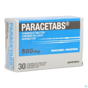 Paracetabs 500mg Comp Pell 30 X 500mg