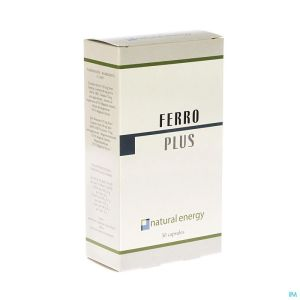 Ferro Plus Natural Energy Caps 30