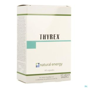 Natural Energy Thyrex Caps 60