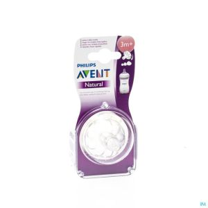 Avent natural tetine variable 1