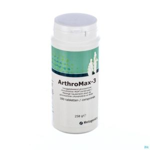Arthromax 3 Pot Tabl 180 4345 Metagenics