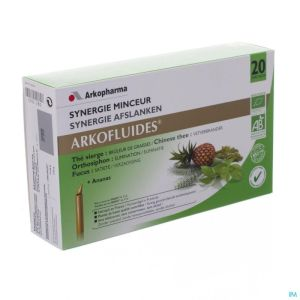 Arkofluide Synergie Minceur Unicadose 20