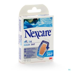 N1214asd Nexcare Aqua Strips 360° Assortiment 3 Tailles
