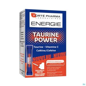 Energie Taurine Power Pdr Orodisp. Sticks 21