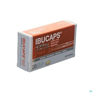 Ibucaps 400mg Apotex Caps Doux 20