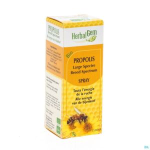 Herbalgem Propolis Large Spectre Bio Spray 15ml