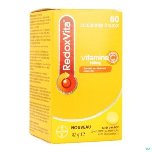 Redoxvita 500mg Orange Comp A Sucer 60