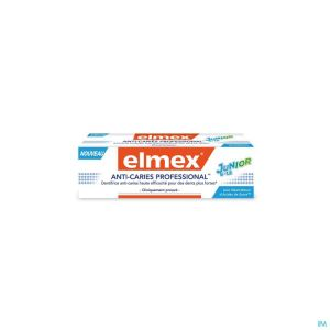 Dentifrice Elmex® Anti-caries Professional™ Junior 6-12 Tube 75ml