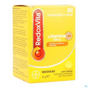 Redoxvita 500mg Orange Comp A Sucer 30
