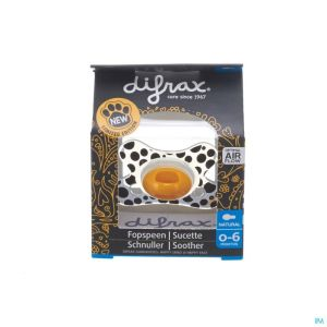 Difrax Sucette Natural 0-6 Special Edition
