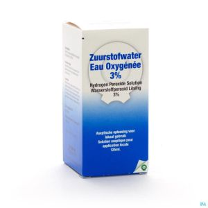 Eau Oxygene 3% Qualiphar 125ml