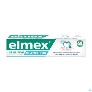 Dentifrice Elmex® Sensitive Blancheur Tube 75ml