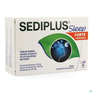 Sediplus Sleep Forte Comp 40