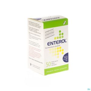 Enterol 250mg Pi Pharma Caps Dur 50 Pip