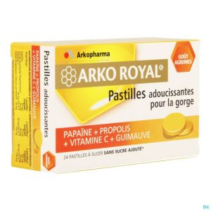 Arkoroyal Propolis-papaine-orange Past A Sucer 24