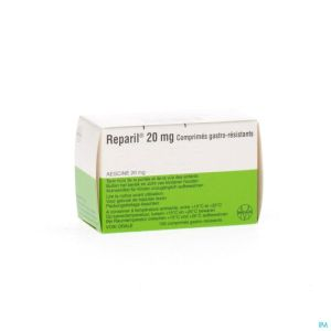 Reparil Comp Gastroresist 100 X 20mg
