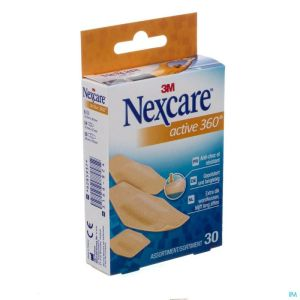 N1030asd Nexcare Active Strips 360° Assortiment