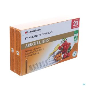 Arkofluide Stimulant Physique+intelect.unicados 20