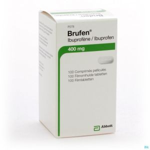 Brufen 400mg Comp Pell Tabl 100 X 400mg