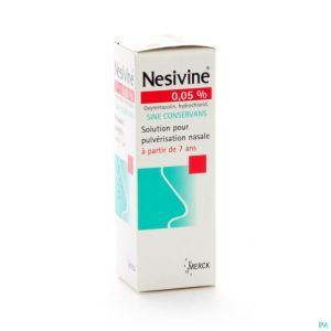 Nesivine 0,05% Sine Conserv Spray Nasal 15ml