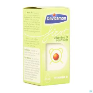 Davitamon First Vit D Aquosum 25ml V1