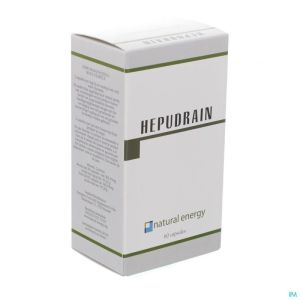 Hepudrain Natural Energy Caps 60