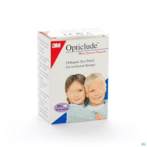 Opticlude Pansement Orthoptique Junior 63mm X 48mm