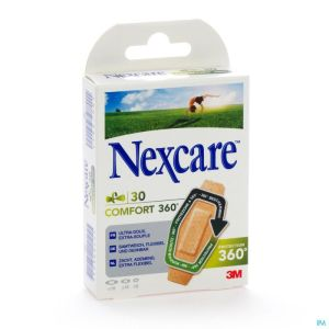 N1130asd Nexcare Comfort Strips 360° Assortiment 3 Tailles