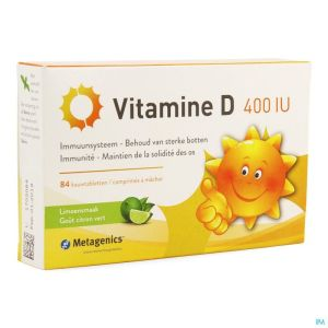 Vitamine D 400iu Comp 84 Metagenics