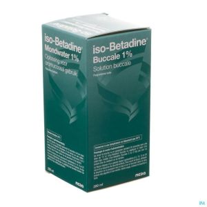 Iso Betadine 1% Nf Sol Bucc 200ml Ready To Use