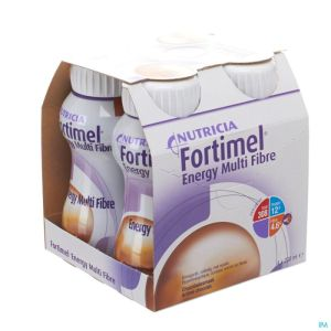 Fortimel Energy Multi Fibre Chocolat 4x200ml