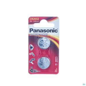 Panasonic Batterie Cr2032 3v 2