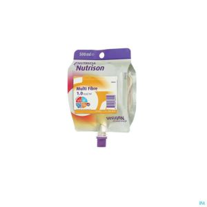 Nutrison Multi Fibre Pack 500ml Remplace 1592-781