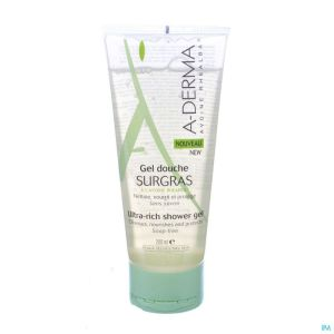 Aderma Gel Moussant Avoine Surgras 200ml