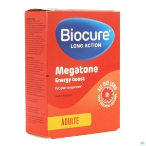 Biocure Long Action Megatone Energy Boost Comp 30