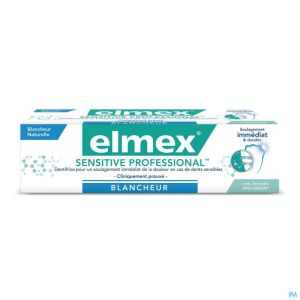 Dentifrice Elmex® Sensitive Professional Blancheur Tube 75ml