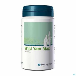 Wild Yam Max Caps 120 683 Metagenics
