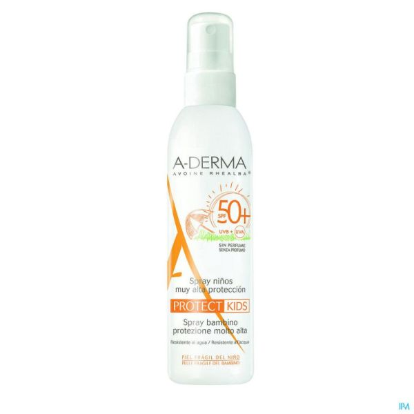 Aderma protect spray enfant ip50+    200ml