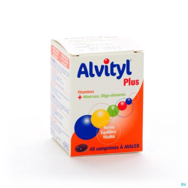 Alvityl plus comp  40 rempl.1208677